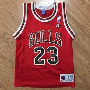 d5377e64052033 Champion Shirts   Tops - Champion Youth Jordan Jersey Chicago Bulls Vintage